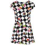 AX Paris Check Rose Playsuit Black/White 8 (XS)