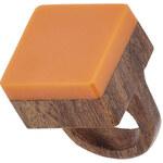 Topshop Square Colour-Block Ring