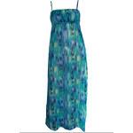 CHANGE Lingerie Dlouhé plážové šaty CHANGE Beachwear tyrkysové S/M