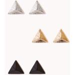 Forever 21 Geo Pyramid Studs