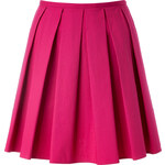 RED Valentino Stretch Cotton Pleated Skirt