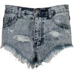 Glamorous Acid Wash Shorts Light Blue Acid 8 (XS)