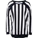 Terranova Stripes patterned maxi sweatshirt