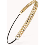 Forever 21 Secret Rebel Chain Headband