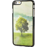 TREE 3D bílá-zelená-oranžová