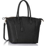 L&S Fashion (Anglie) Kabelka LS00332 černá