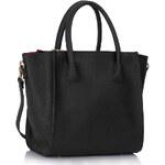 L&S Fashion (Anglie) Kabelka LS0061A černá