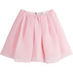 Carven Organza Cloque Skirt
