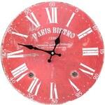 Nástěnné vintage hodiny Dakls Paris Bistro
