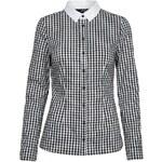 Tally Weijl Monochrome Gingham Check Shirt