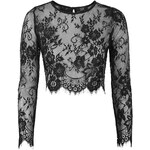 Topshop **Lace Crop Top by Goldie