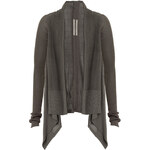 Rick Owens Stripe Effect Open Cardigan