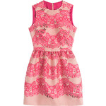 RED Valentino Lace and Brocade Dress