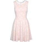 Tally Weijl Pink Lace Skater Dress