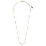 Topshop **Halskette mit V-Anhänger von Orelia - Gold