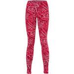 Tally Weijl Red Paisley Print Leggings