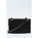 Tally Weijl Black Quilt & Chain Handbag