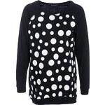 Terranova Polka-dot maxi sweatshirt