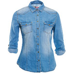 Terranova Denim-effect shirt