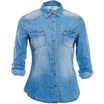 Terranova Denim-effect shirt