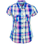 Terranova checked muslin shirt