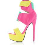 Vícebarevné sandály Glamorous EUR39