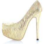 Zlaté lodičky Galis EUR37