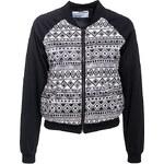 Terranova Patterned bomber jacket