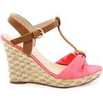 BLESS Sandálky na klínku 23504R Velikost: 36