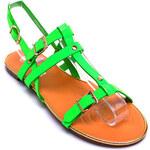 TOP OR Zelené sandálky FR952GR /13