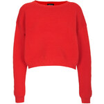 Topshop Knitted Rib Textured Jumper