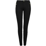 Tally Weijl Black Soft Pants with Exposed Zip Detail
