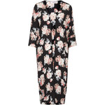 Topshop **Floral Longline Kimono by Oh My Love