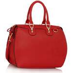 Červená kabelka Milano