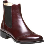 Baťa Trendy kožená Chelsea obuv