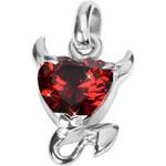 Tribal Přívěsek Devilheart PSSW08-RED
