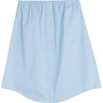 Jil Sander Navy Eastern Cotton Poplin Skirt
