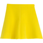 RED Valentino Flared Jersey Scuba Skirt