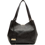 Burberry Shoes & Accessories Textured Leather Canterbury Tote