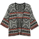 Tally Weijl Black Aztec Knitted Cardigan