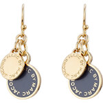 Marc by Marc Jacobs Logo Charm Earrings