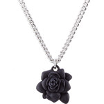 Marc by Marc Jacobs Jerry Necklace with Rubber Rose