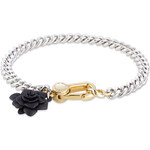Marc by Marc Jacobs Jerrie Bracelet with Rubber Rose Charm