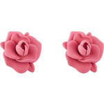 Marc by Marc Jacobs Jerrie Rose Rubber Earrings