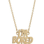 Marc by Marc Jacobs Im Bored Necklace