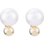 Sophie Bille Brahe 14kt Gold Earrings with Fresh Water Pearls