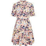 Topshop **High Neck Floral Dress by Oh My Love