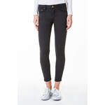 Tally Weijl Black Button & Zip Ankle Pants