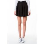 Tally Weijl Black Leather Waistband Skirt
