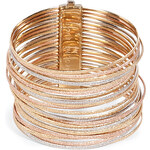 Carolina Bucci 18K Mixed Gold Stacked Bangle Bracelet